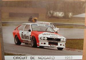 142 . 1 X Photo . Circuit De Nogaro . Alfa Romeo . 1983 . Format : 18 X 24 Cm . Un RemèDe Souverain Indispensable Pour La Maison