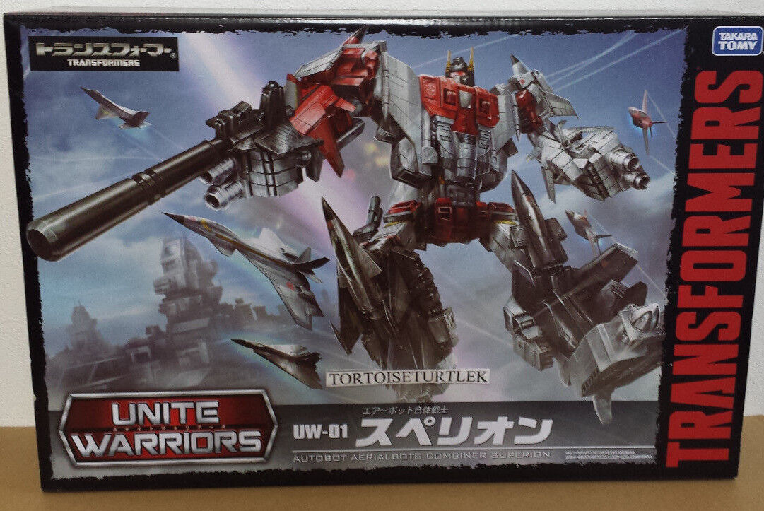 TRANSFORMERS UW01 SUPERION UNITE WARRIORS 01 4904810831686