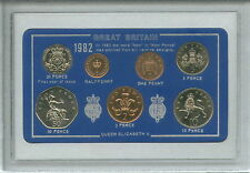 1982 Vintage Coin Set 35th Birthday Birth Year Present Wedding Anniversary Gift