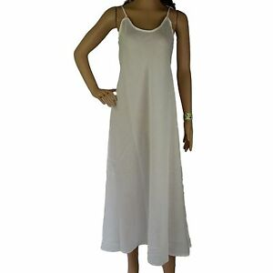 c6da4fc466dcb Size 18 Full Slip 100% COTTON Ladies XL NEW Long Petticoat Dress ...
