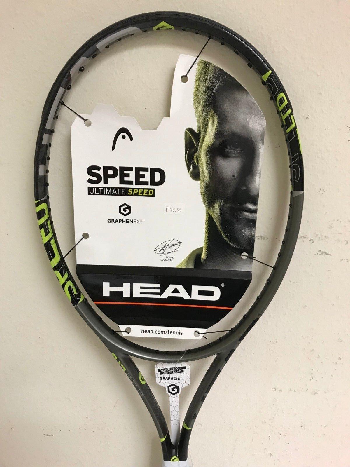 Head Graphene Velocidad Mp limitada Tenis Raqueta Agarre Talla 4 1 2