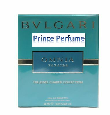 BULGARI OMNIA PARAIBA PROFUMO DONNA EDT 25ML VAPO Perfume Woman Spray