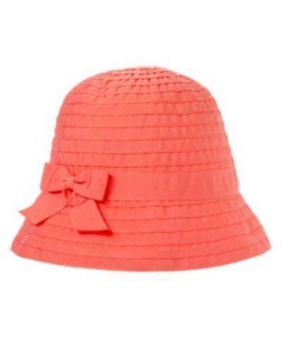 NWT Gymboree Girls Cherry Blossom Pink Red Sun Hat Bucket Size M /& L
