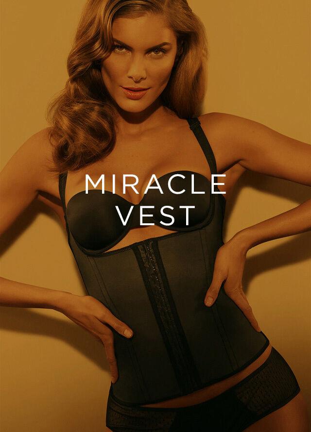 Original Squeem Miracle Vest Corset lingerie