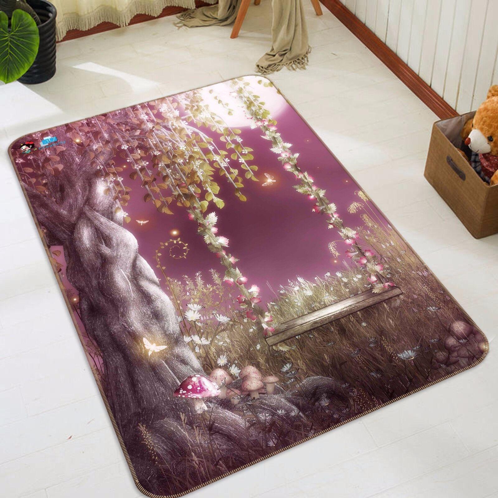 3d ALBERO LUNA 447 antiscivolo tappeto tappetino bagagliaio tappeto elegante de