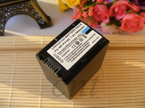 Camera Battery 2800mAH 7.2V for Sony DCR-SX53E DCR-SX63 DCR-SX65 DCR-SX65E