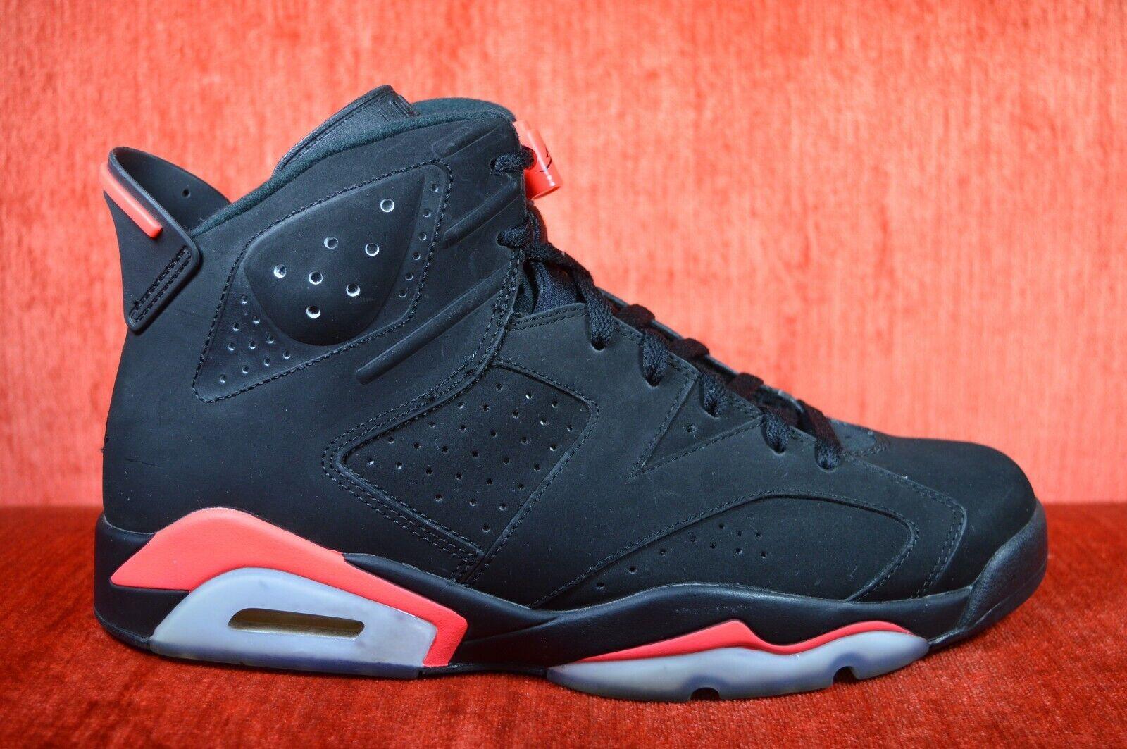 bb9c85688558b7 CLEAN Nike Air Jordan 6 Retro Black Infrared Infrared Infrared 2014 384664-023  Size 10.5