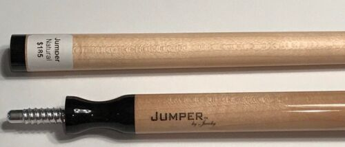 JACOBY JUMP CUE JUMPER NATURAL STAIN NEW DESIGN  FREE SHIPPING FREE CASE TOO!!