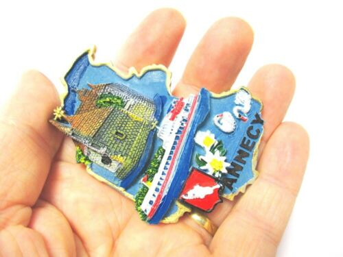 Annecy Magnet Souvenir Poly Frankreich Palais de l´ Isle,Neu