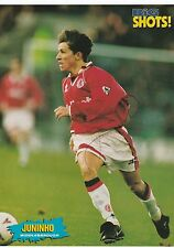 JUNINHO PAULISTA MIDDLESBROUGH 95-97,99-00 & 02-04 ORIG SIGNED MAGAZINE PICTURE