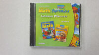 Houghton Mifflin California Math Kindergarten Lesson Planner Cd-rom 0618962034