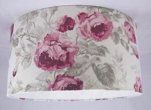 Lampshade handmade in uk laura ashley roses cassis floral ebay image is loading lampshade handmade in uk laura ashley roses cassis aloadofball Image collections