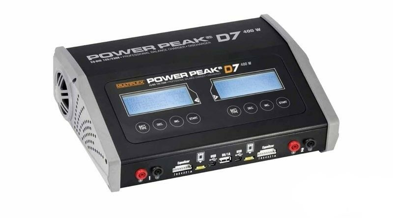Multiplex Power Peak quad d7 eq-bid 12v230v Duo