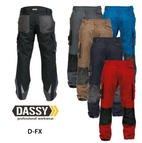 DASSY® Nova Bundhose Cordura® Kniepolstertaschen Stoff wasserabweis