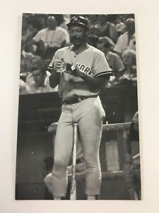 Cliff Johnson (1977) New York Yankees Vintage Baseball Postcard NYY