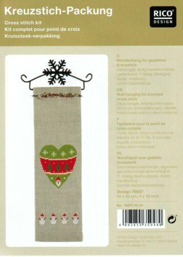 Rico Design Wandbehang Weihnachten Komplettpackung