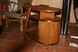 Bar scandinave 1950 art deco design meuble industriel ebay - Bar art deco a vendre ...
