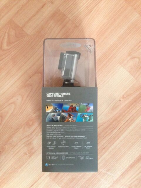 GoPro Silver Edition Camcorder - Silber