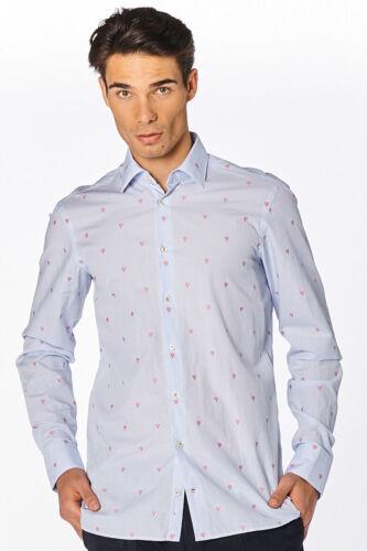 Herren Hemd LET-TFW blau Tailor Fit langarm hochwertig Neu Van Laack 169 €