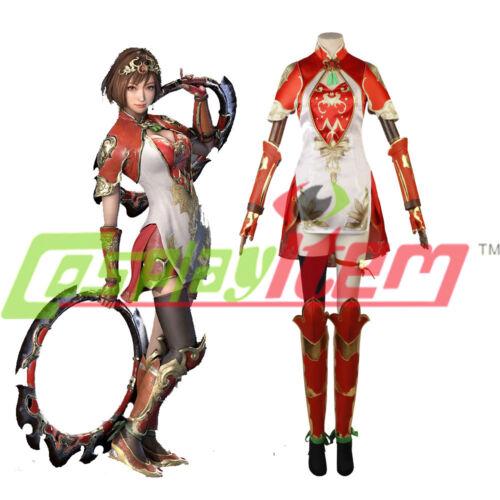 Shin Sangokumusou Dynasty Warriors8 Sun Shangxiang Cosplay Costume Chinese Dress