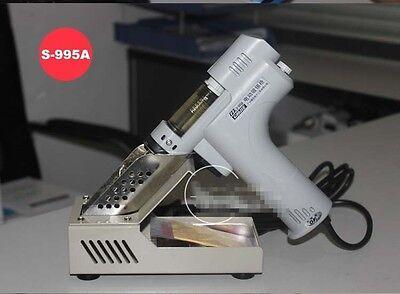 Electric Pump Vacuum Solder Sucker Desoldering Soldering Iron S-995A 207