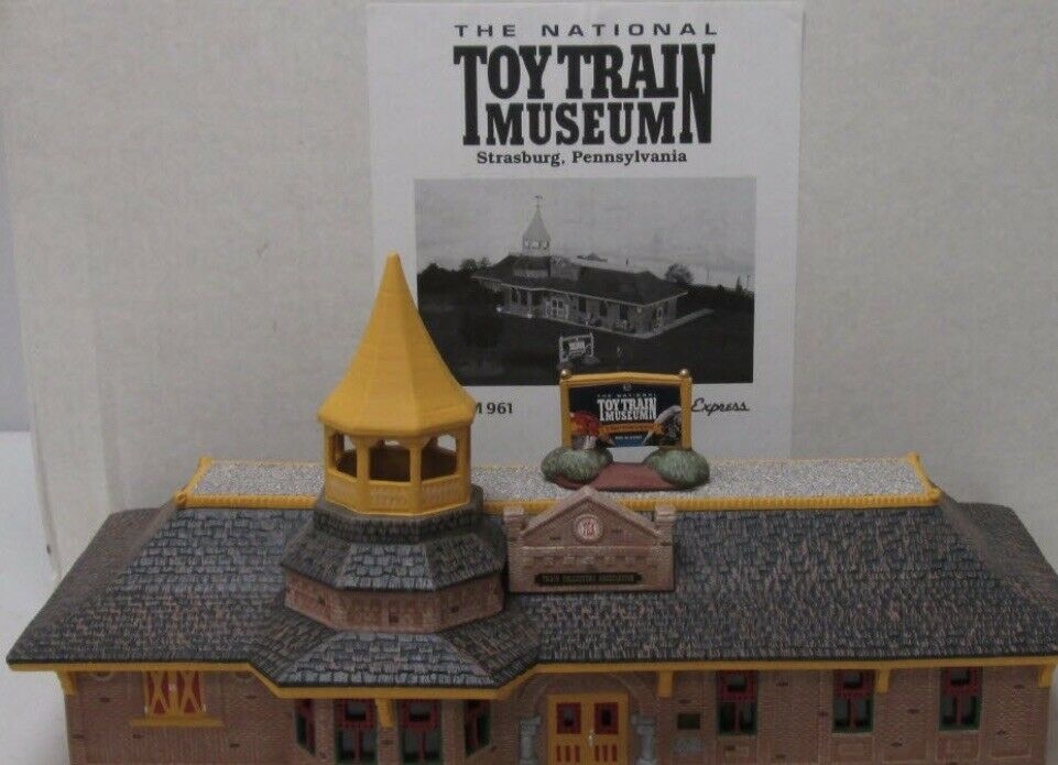 STONEY EXPRESS TCA STRASBURG NATIONAL TOY TRAIN MUSEUM BUILDING FITS LIONEL MTH