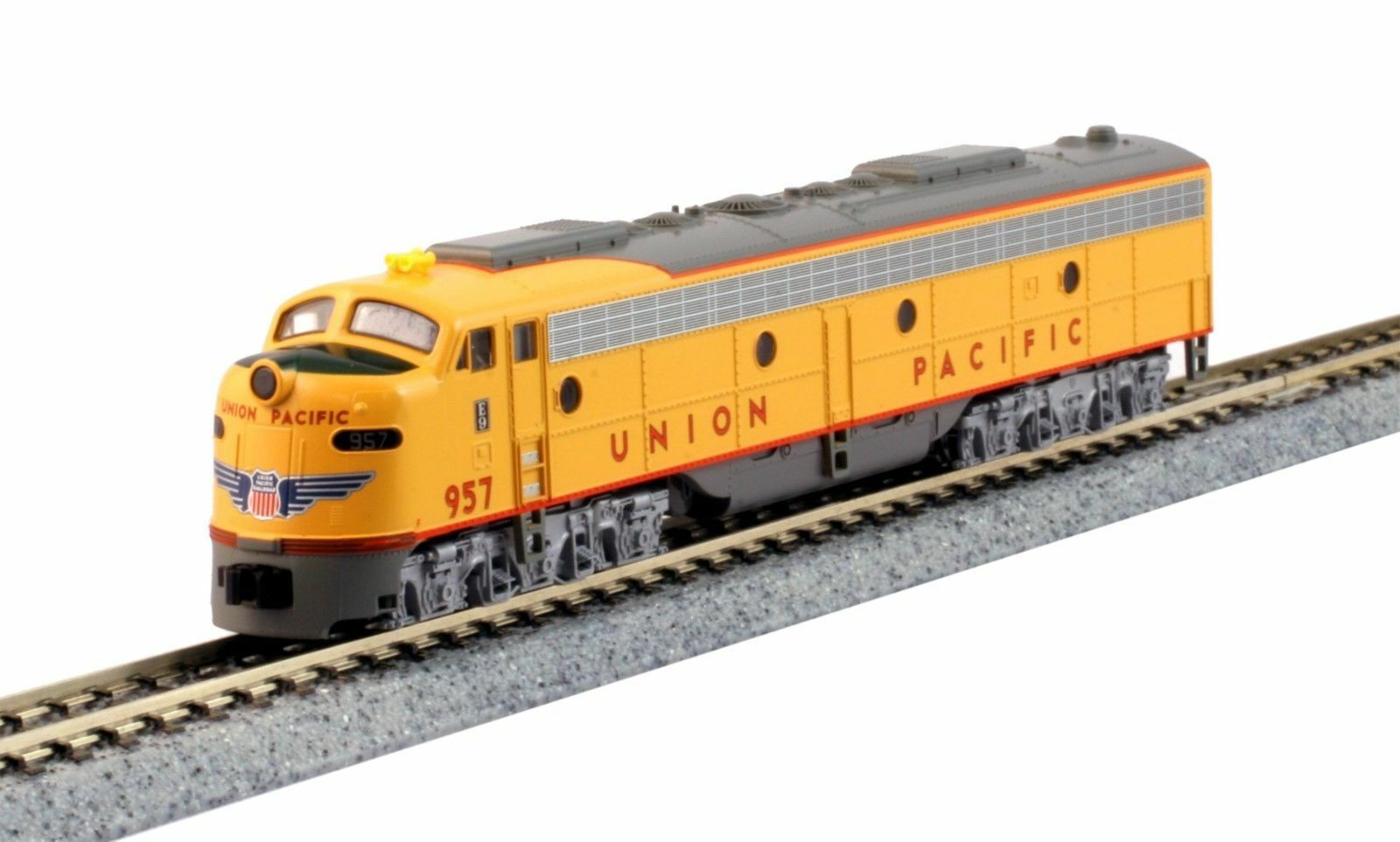 KATO 1765317DCC N  E9A Union Pacific City of Los Angeles  957 DCC 176-5317-DCC