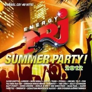 Various-Artists-034-NRJ-Summer-Party-034-2012-Double-CD-Album
