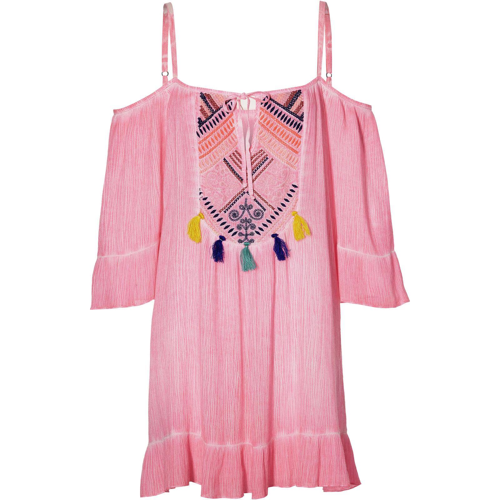 O'Neill Kleid Trägerkleid LW SODA SPRINGS EMB DRESS pink pink pink Unifarben 78a73c