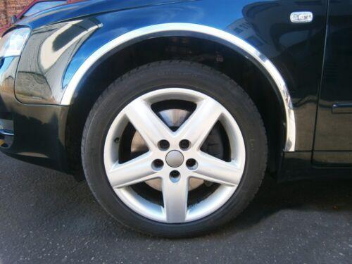 Fiat typo radlauf las molduras cromo tuning delante atrás frase 4 unidades año 87-95