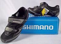 Shimano Mens Road Touring Bike Shoes Sh-rt32 Eu Sz 41 Us 7.6 Black In Box