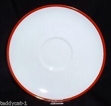 Arzberg Form 1382 Rotrand ~ Unterteller/ Untertasse 15 cm °°TOP°° (zur Teetasse)