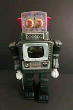 """Alps Television Spaceman Robot 11""""1/2  Battery Operated Japan 1966"""