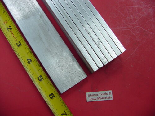 "8 Pieces 1//4/"" X 1-1//2/"" ALUMINUM 6061 FLAT BAR 6/"" long T6511 New Mill Stock .250"