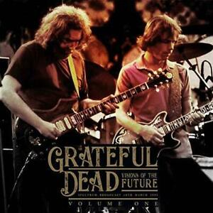 """THE GRATEFUL DEAD """"VISIONS OF THE FUTURE"""" VOL ONE - LIVE  3/18/1995  2-LPS UK"""