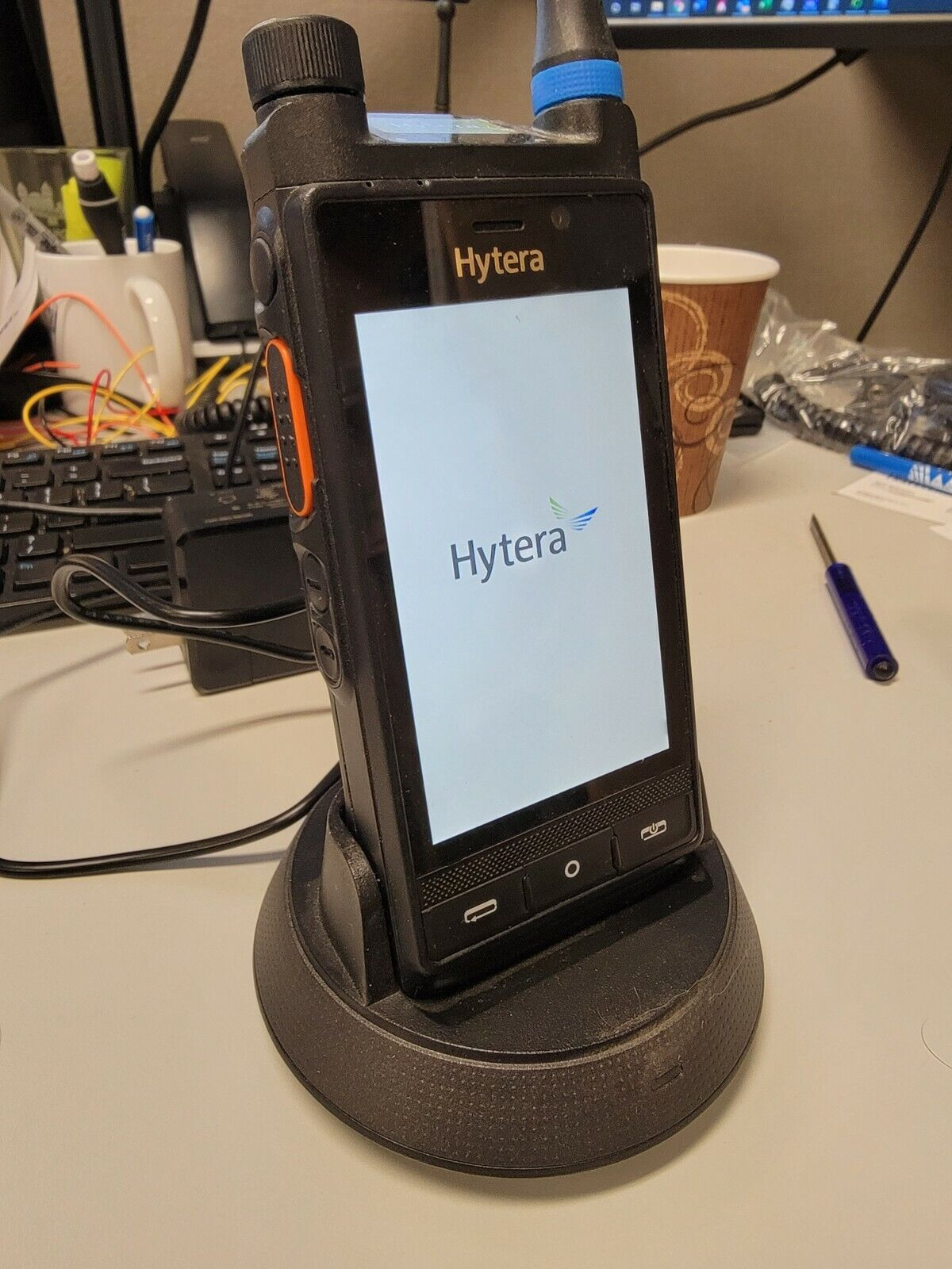 Hytera PDC760 Android Portable Radio (400-470MHz) US Version LTE/Analog/DMR. Buy it now for 799.00