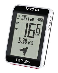VDO-M7-GPS-Fahrradcomputer-Hohenmesser-Fahrradnavi-Fahrradtacho-kabellos-Tacho