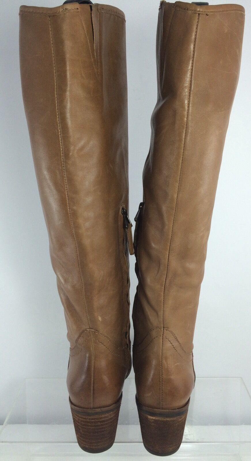 Sam Edelman Womens Brown Leather Knee Boots Boots Boots 6.5 261619