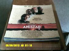 Amistad (morgan freeman, anthony hopkins, matthew mcconnaighey) Movie Poster