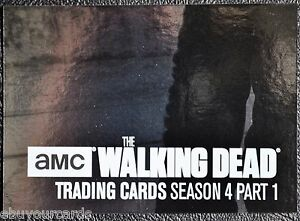 Walking-Dead-Season-4-Silver-Numbered-Parallel-Chase-Trading-Card-Z7-65-99