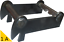 MS01 MS03 Symlock Adapter mit extrahohen Wangen für Umbau von normal MS