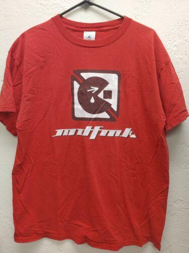 MDFMK Revolution Now Tour 2000 Vintage Red T-Shirt