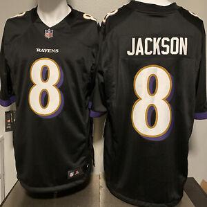 Details about LAMAR JACKSON Baltimore RAVENS Nike BLACK Speed Machine LIMITED Jersey Sz S-XXL