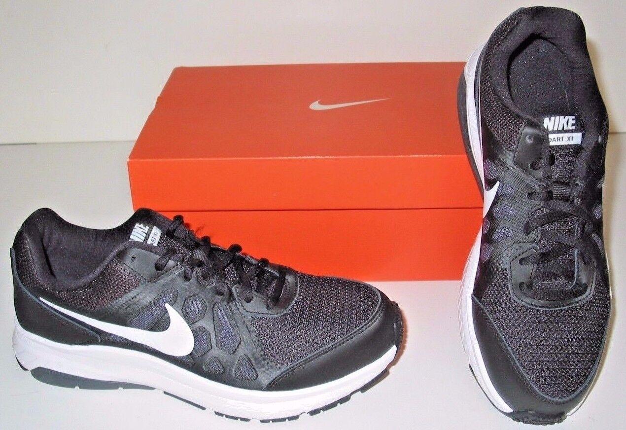 Nike Dart XI 11 Running Training Black White Gray Sneakers Shoes Womens 10