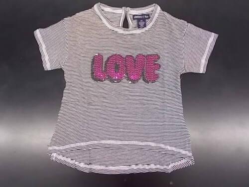 "Girls Limited Too $40.00 2Pc /""Love/"" Shirt /& Leggings Set Size 4T"