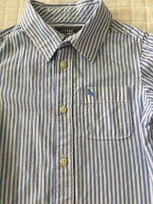 NWT Gymboree Boys Camp Dress Shirt Button Up Top Oxford Holiday NEW