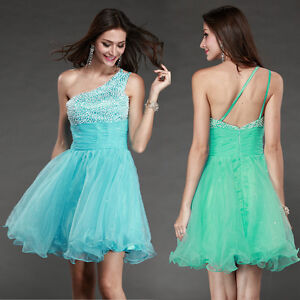 Homecoming Turquoise Short Mini Cocktail party Evening Formal Ball ...