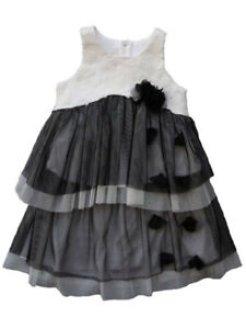 0a6bc5640ca Isobella & Chloe White and Black Baby & Toddler Girls Party Dress ...