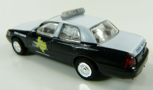 ST Ford Crown Victoria Texas Highway Patrol Cop Car Collection 1:87