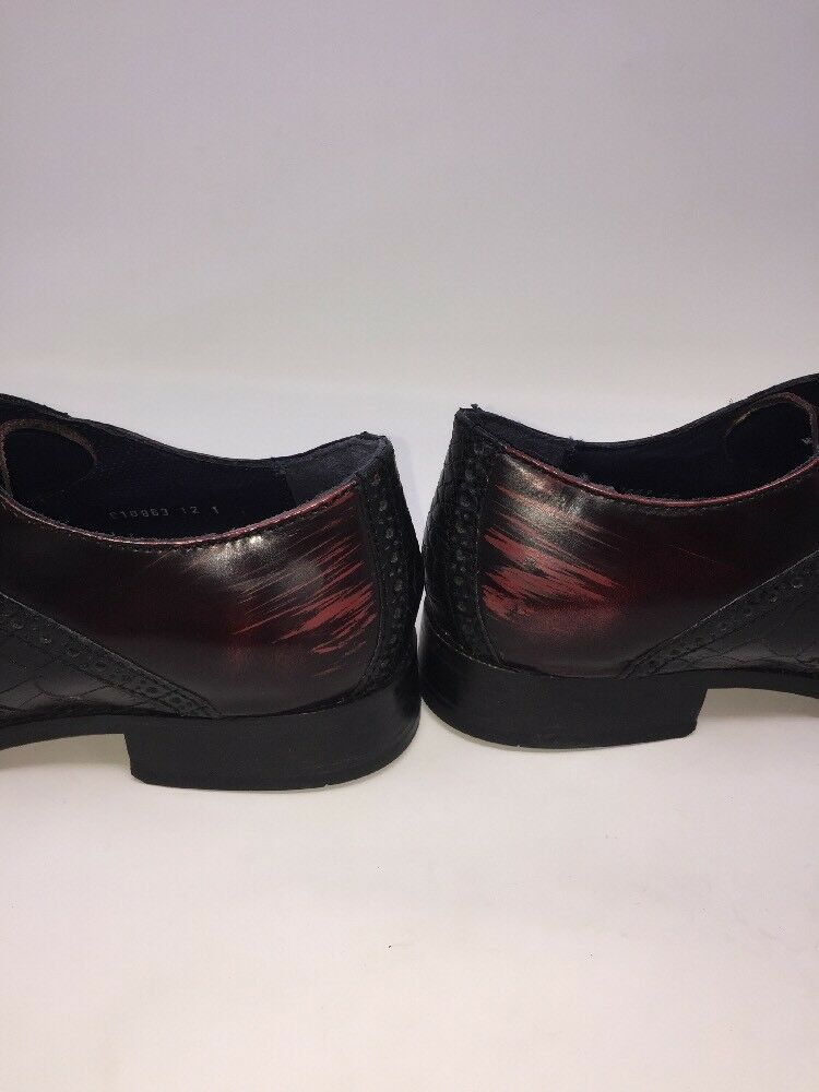 COLE HAAN Air Colton Saddle Embossed Men's Oxblood Alligator Embossed Saddle schuhe Sz 10 M N1B 64666f
